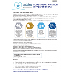 CARE2HOME FLYER