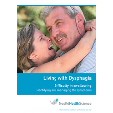 LIVING WITH DYSPHAGIA BOOKLET